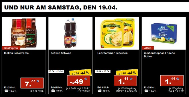 LIDL-Prospekt-Angebote am 19. April 2014
