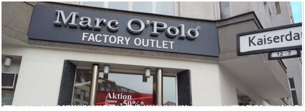 Marc O'Polo Factory Outlet Berlin