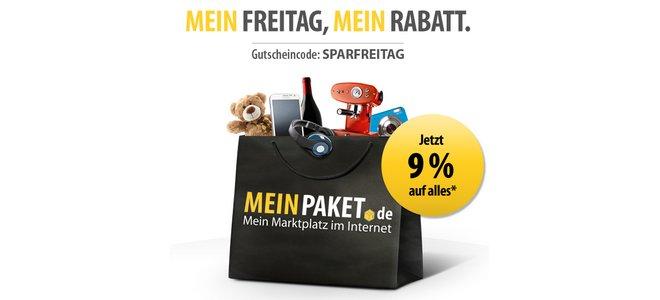 MeinPaket Aktionscode Sparfreitag