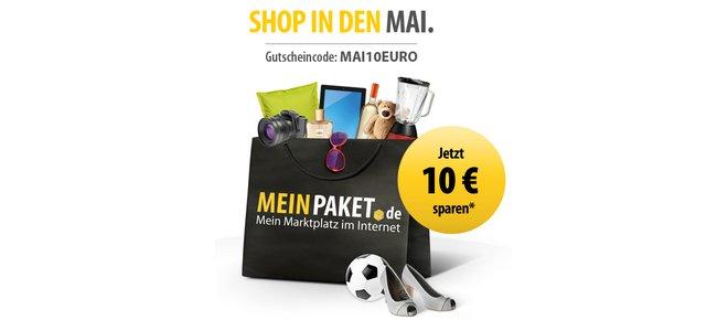 MeinPaket 10 Euro Gutschein