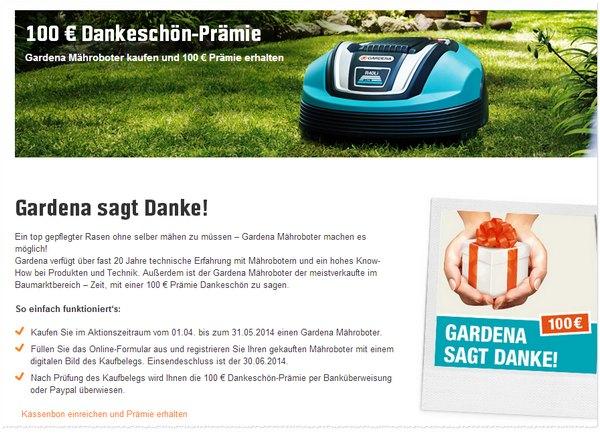 OBI Gardena 100 Euro