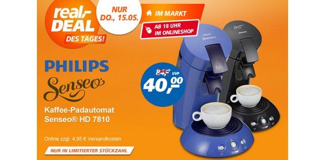 Senseo hd 7810 60 aus der media markt werbung 39 for Senseo kaffeepads angebot