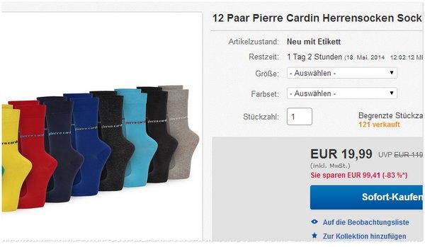 Pierre Cardin Socken kaufen