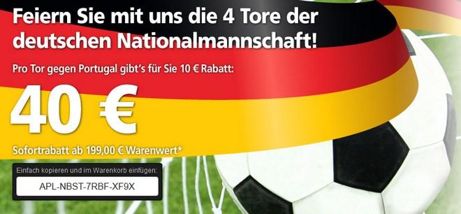 Real Gutschein WM 40 €