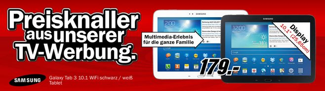 Samsung Galaxy Tab 3 10.1 Media Markt