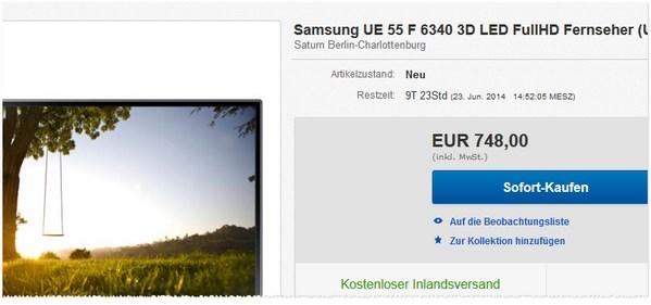 Samsung UE55-F6340 günstig kaufen