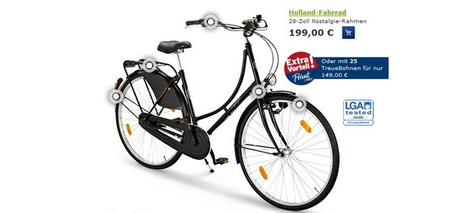 tchibo privatcard fahrrad rabatt fahrr der bis zu 100. Black Bedroom Furniture Sets. Home Design Ideas