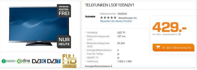 Telefunken L50F185N2V1