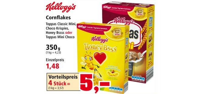 Thomas Philipps Prospekt Kelloggs Toppas Cornflakes