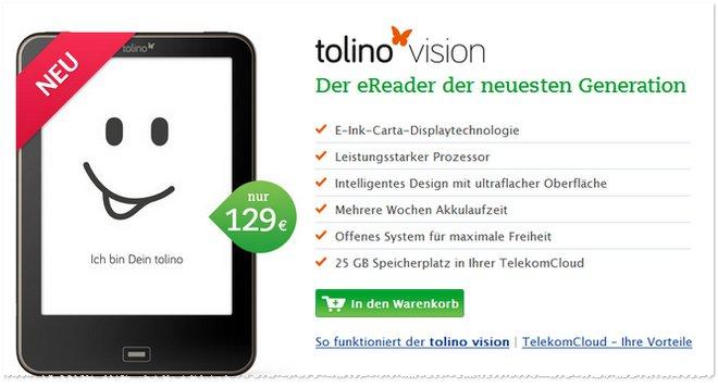 Tolino Vision günstig kaufen