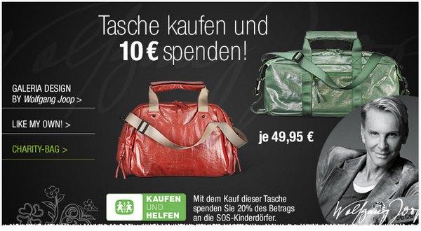 Wolfgang Joop Tasche Charity Bag