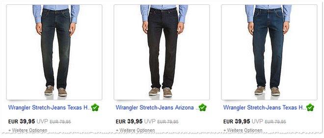 Wrangler Jeans Preissenkung