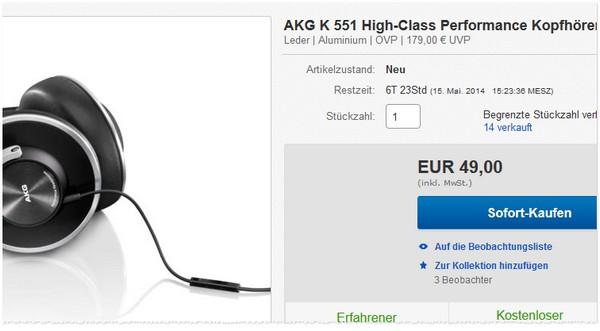 AKG K551 kaufen