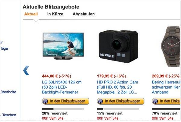 LG 50LN5406 als Amazon Blitzangebot
