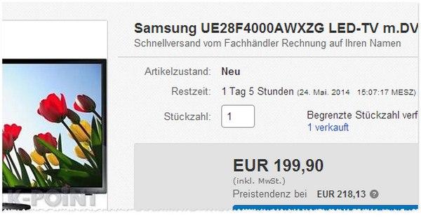 Samsung UE28F4000 kaufen
