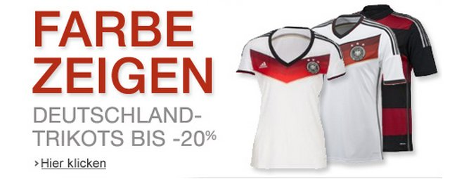 Adidas Deutschland DFB-Trikot WM 2014