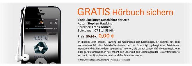 Audible Gratis Hörbuch
