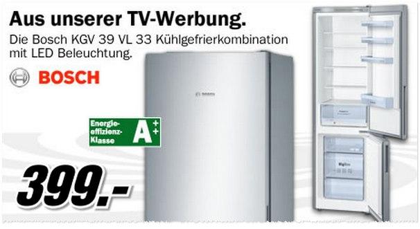 Bosch KGV 39 VL 33 Als Schnapp Des Tages Vom 16.8.2014