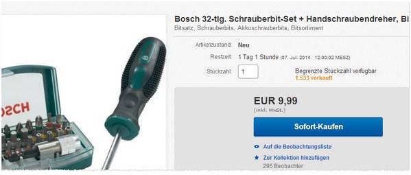 Bosch Schraubendreher kaufen