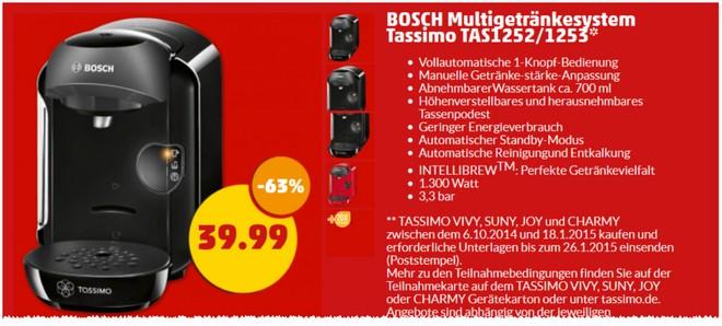 Bosch Tassimo Penny