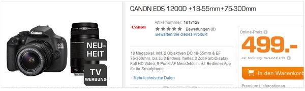 Canon EOS 1200 D Kit