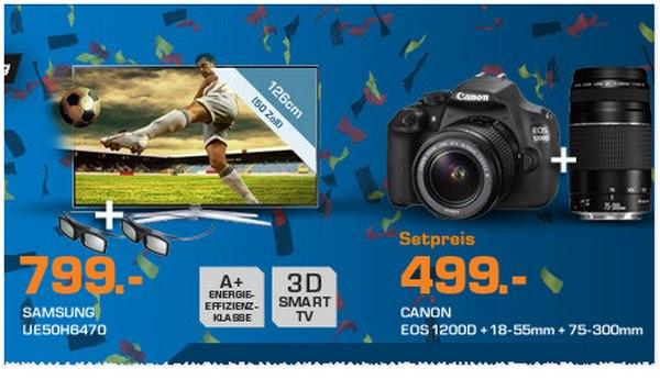 Canon EOS 1200D aus der Saturn-Werbung