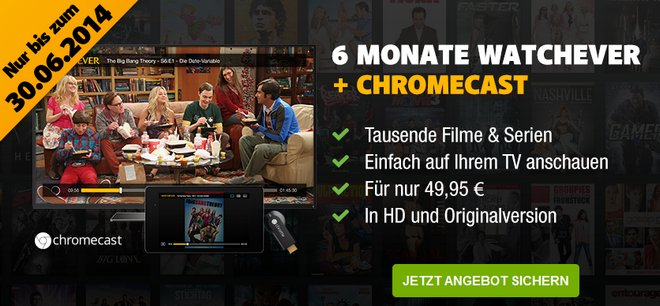 Chromecast Film Streaming