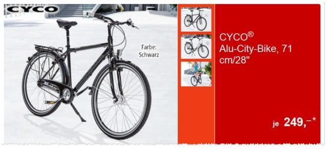 Cyco Alu-City-Bike