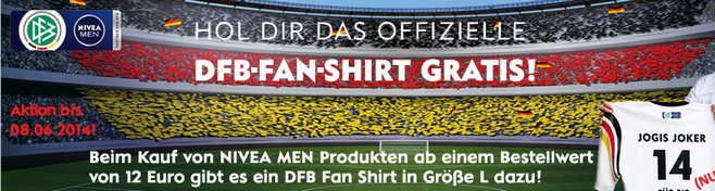 DFB Fan Shirt gratis