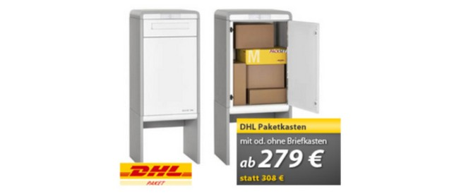 paketkasten gutschein 2015 ab 1 99 bei dhl 5 rabatt. Black Bedroom Furniture Sets. Home Design Ideas