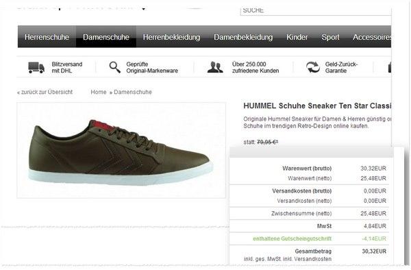 Günstige Hummel-Sneaker kaufen