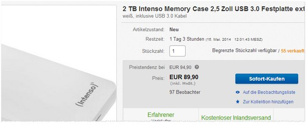Intenso Memory Case kaufen