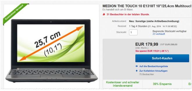 Medion E1318T
