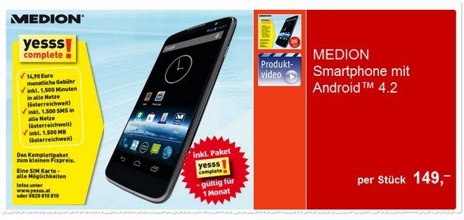 Medion Life P5001 MD 98664 ohne Vertrag bei Hofer