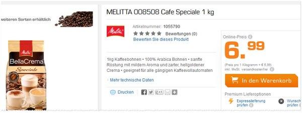 Melitta Bella Crema kaufen