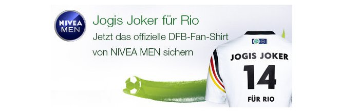 dfb fan shirt gratis aus der nivea werbung. Black Bedroom Furniture Sets. Home Design Ideas