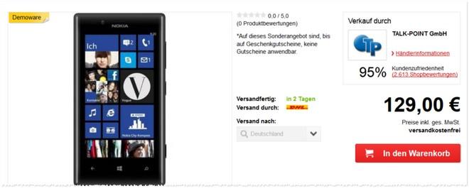 Nokia Lumia 720 gebraucht