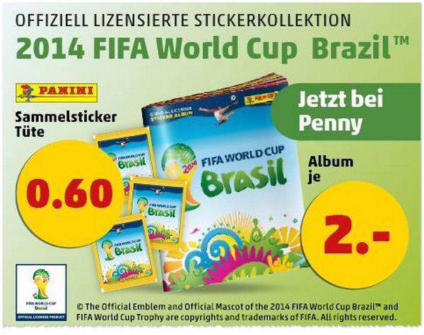 Panini WM Sticker bei Penny-Markt
