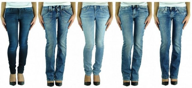 Pepe Damen Jeans