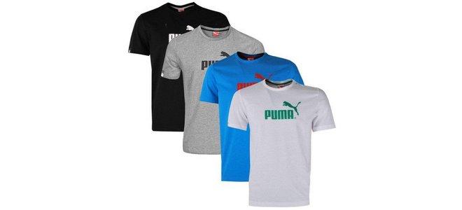 Puma-Herren-T-Shirts Logo