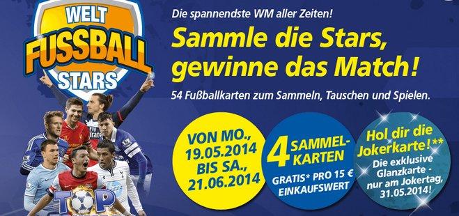 Real Welt Fussball Stars Sammelkarten