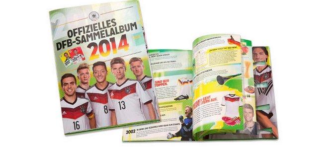 REWE Sammelkarten WM 2014