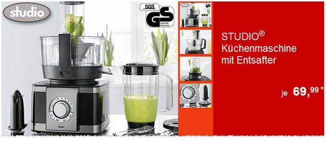 Studio Küchenmaschine als ALDI-Angebot ab 3.12.2015