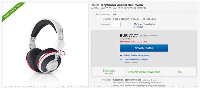Teufel Aureol Real Outlet-Preis