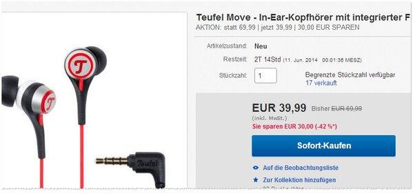 Teufel Move billig kaufen