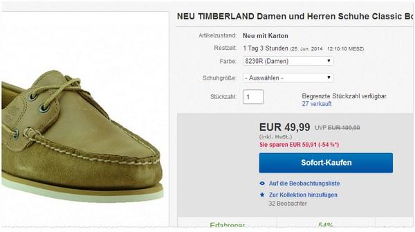 Timberland Schuhe kaufen
