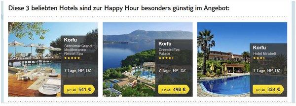 TUI Happy Hour am 14.5.2014 (Korfu)