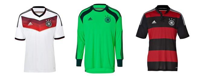 WM Kader Deutschland 2014