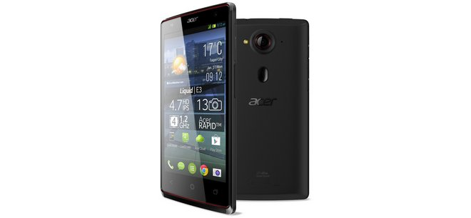 Acer Liquid E3 plus ohne Vertrag