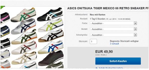 Asics Onitsuka Tiger Mexico 66 kaufen